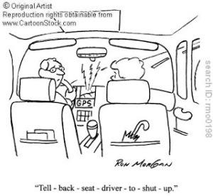 Google images, Backseat driver