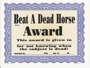 "Google Images, ""Beat a Dead Horse."""