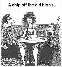 a chip off the old block1