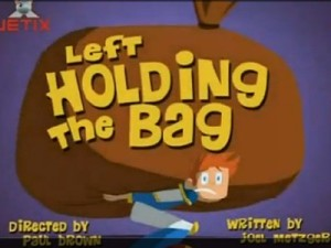left holding the bag1